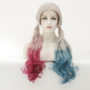 Middle Part 3Color Nice Lace Front Wigs